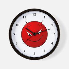 Lil' Devil Wall Clock