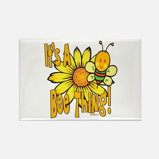It's A Bee Thing Rectangle Magnet (10 pack)