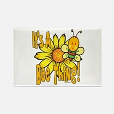 It's A Bee Thing Rectangle Magnet