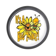 It's A Bee Thing Wall Clock