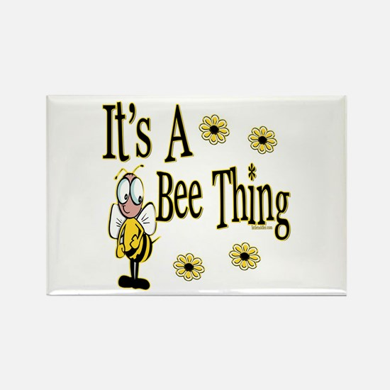 Bee Thing! Rectangle Magnet