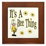 Bee Framed Tiles