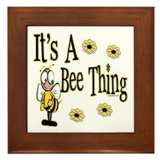 Bee Thing! Framed Tile