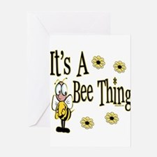 Bee Thing! Greeting Card