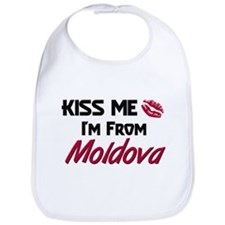 Kiss Me I'm from Moldova Bib