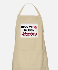 Kiss Me I'm from Moldova BBQ Apron