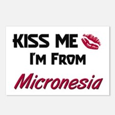 Kiss Me I'm from Micronesia Postcards (Package of