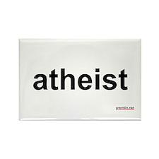 BTR: atheist Rectangle Magnet