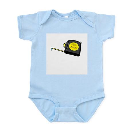 Tape Measure Infant Creeper