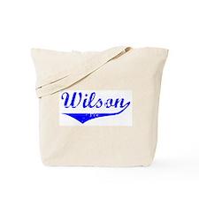 Wilson Vintage (Blue) Tote Bag