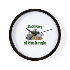 Aaron of the Jungle  Wall Clock