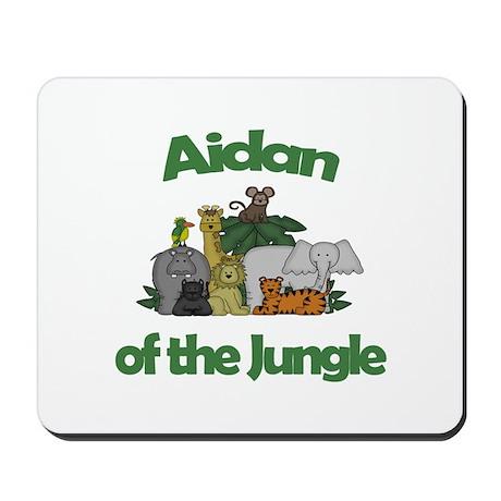 Aidan of the Jungle Mousepad