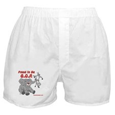 Proud to be GOP Boxer Shorts