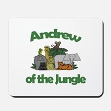 Andrew of the Jungle Mousepad