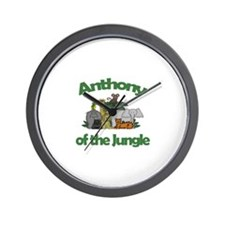 Anthony of the Jungle  Wall Clock