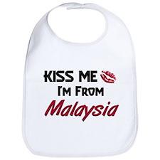 Kiss Me I'm from Malaysia Bib