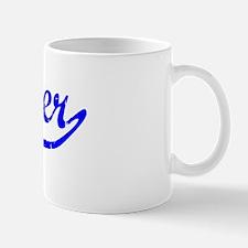 Xavier Vintage (Blue) Small Small Mug