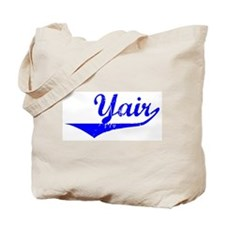 Yair Vintage (Blue) Tote Bag