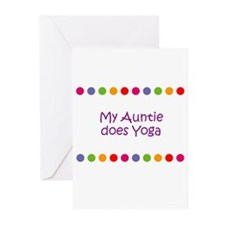 My Auntie does Yoga Greeting Cards (Pk of 10)