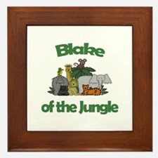Blake of the Jungle  Framed Tile