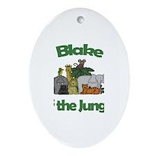 Blake of the Jungle Oval Ornament