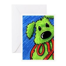Lets GO Rufus Greeting Cards (Pk of 20)