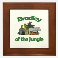 Bradley of the Jungle  Framed Tile