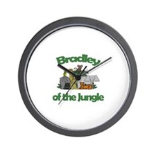 Bradley of the Jungle  Wall Clock
