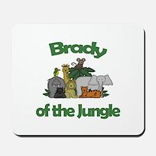 Brady of the Jungle Mousepad
