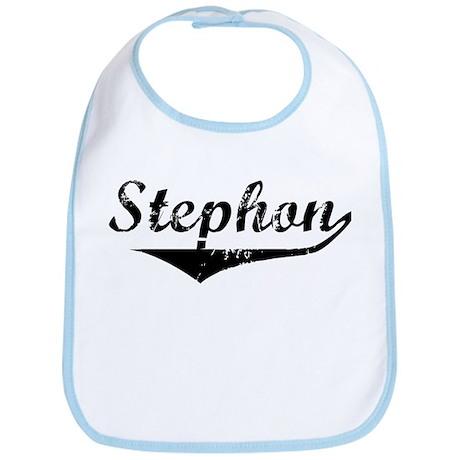 Stephon Vintage (Black) Bib