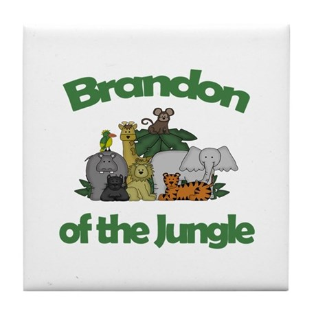 Brandon of the Jungle Tile Coaster