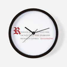 Morality Expires Wall Clock