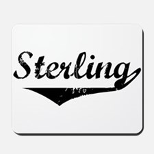 Sterling Vintage (Black) Mousepad