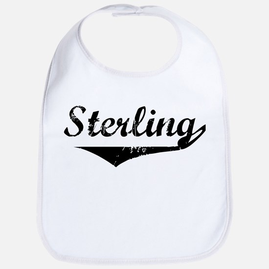 Sterling Vintage (Black) Bib