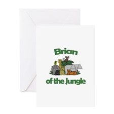 Brian of the Jungle Greeting Card
