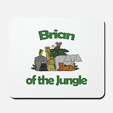 Brian of the Jungle Mousepad