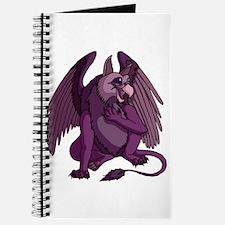 Purple Who Me Gryphon Journal