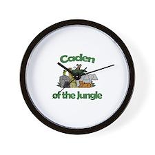 Caden of the Jungle  Wall Clock