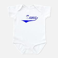Zane Vintage (Blue) Infant Bodysuit