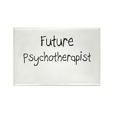 Future Psychotherapist Rectangle Magnet
