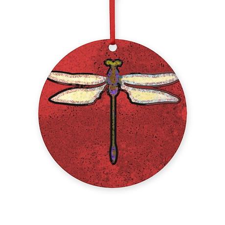 Dragonfly Moon Keepsake (Round)