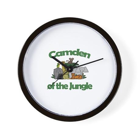 Camden of the Jungle Wall Clock