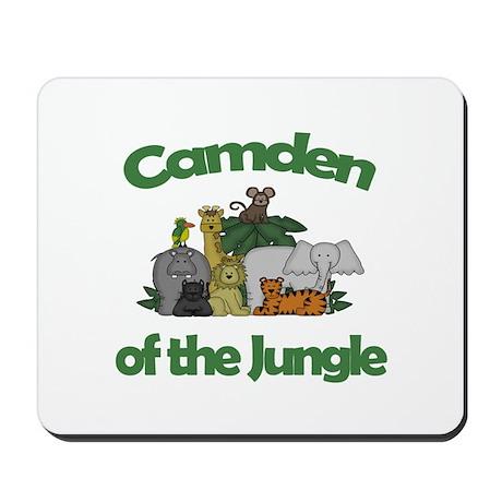 Camden of the Jungle Mousepad