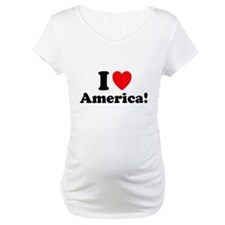 I heart/love America! Shirt