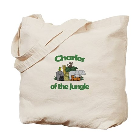 Charles of the Jungle Tote Bag