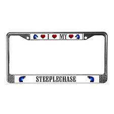 Steeplechase License Plate Frame