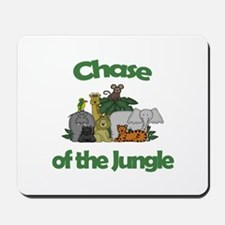 Chase of the Jungle Mousepad
