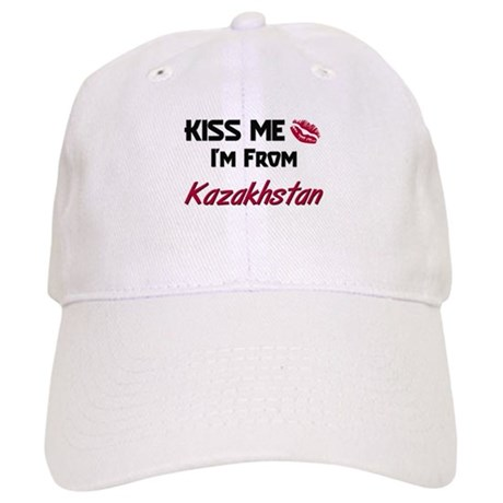 Kiss Me I'm from Kazakhstan Cap