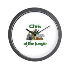Chris of the Jungle  Wall Clock