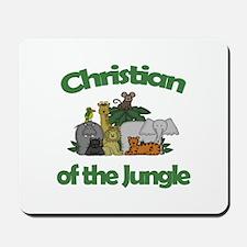 Christian of the Jungle Mousepad